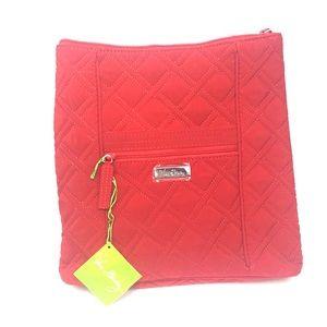 Brand New Vera Bradley Hipster Tango Red Bag